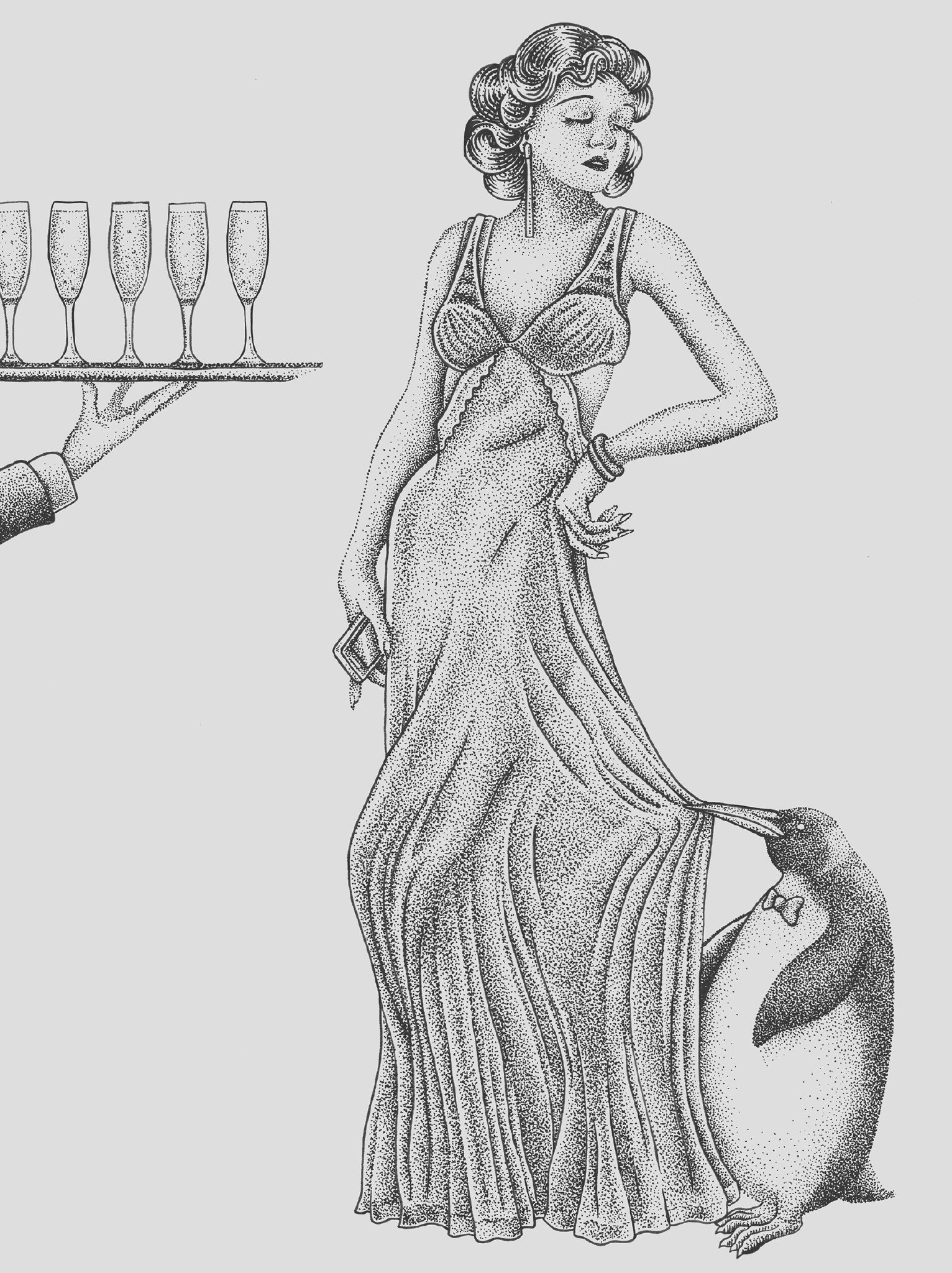 Work of love - La robe chemise de nuit | GALERIE TREIZE-DIX - Førtifem | Work of love - La robe chemise de nuit