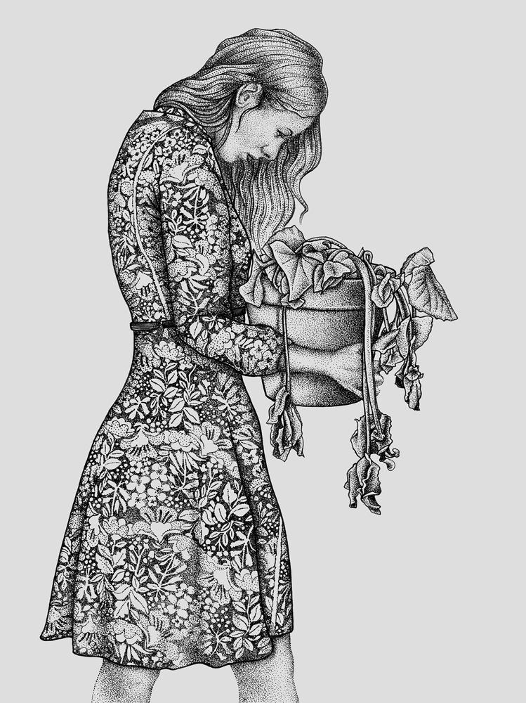 Work of love - Les broderies à fleurs | GALERIE TREIZE-DIX I Førtifem | Work of love - Les broderies à fleurs