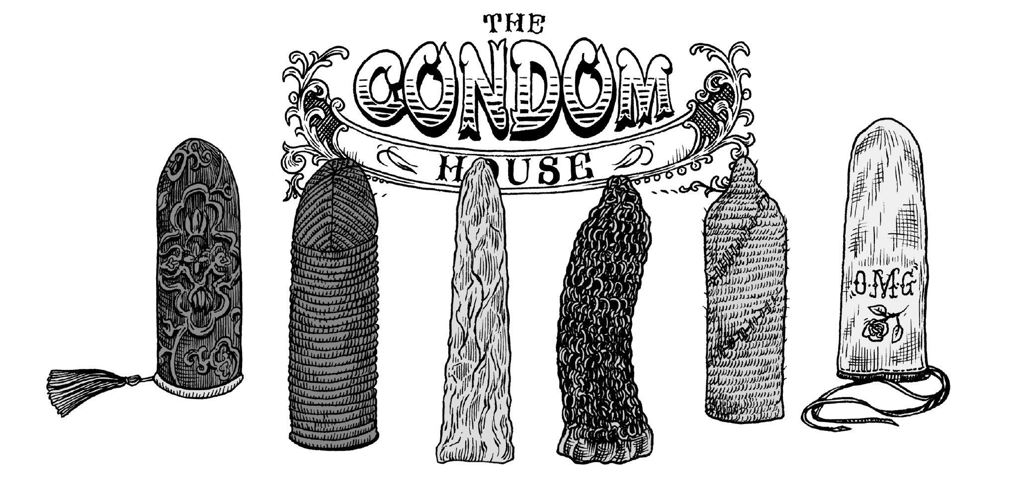 Work of love - La maison du Condom | GALERIE TREIZE-DIX I Førtifem | Work of love - La maison du Condom