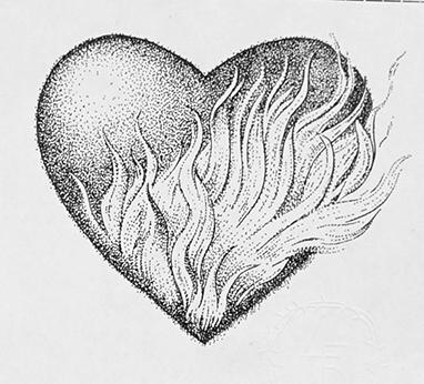 Work of love - Cœur ardent | GALERIE TREIZE-DIX I Førtifem | Work of love - Cœur ardent