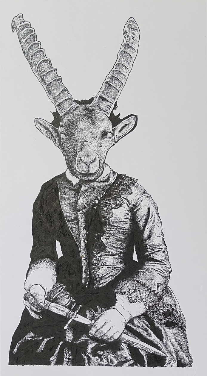 Work of love - Mother Goat | GALERIE TREIZE-DIX I Førtifem | Work of love - Mother Goat