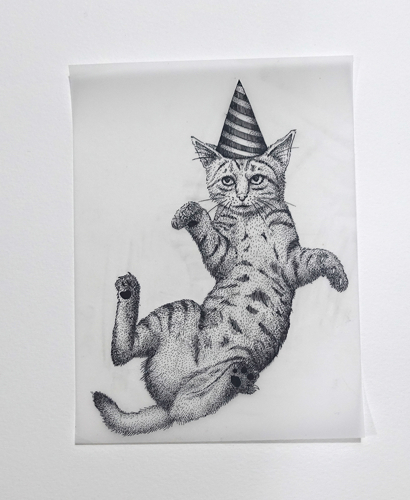 Work of love - Cats in hats 2 | GALERIE TREIZE-DIX I Førtifem | Work of love - Cats in hats 2