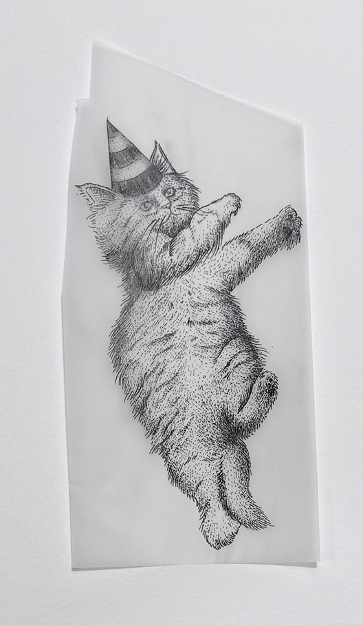 Work of love - Cats in hats 3 | GALERIE TREIZE-DIX I Førtifem | Work of love - Cats in hats 3