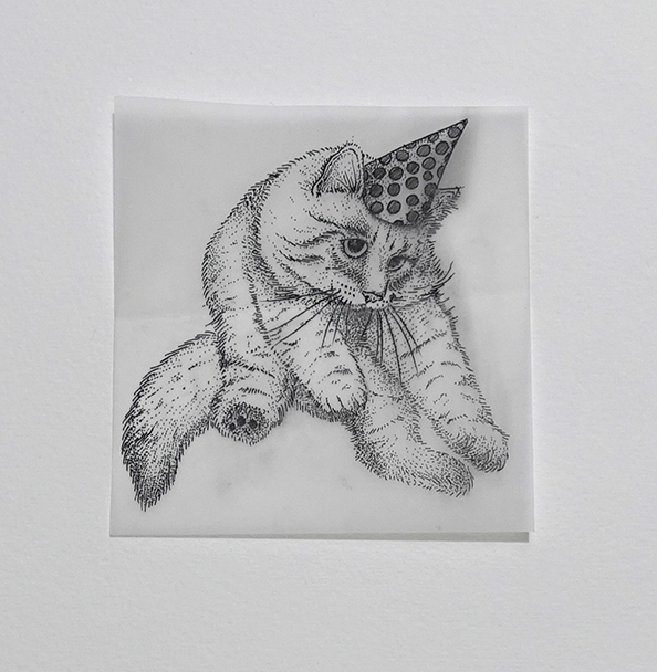 Work of love - Cats in hats 4 | GALERIE TREIZE-DIX I Førtifem | Work of love - Cats in hats 4