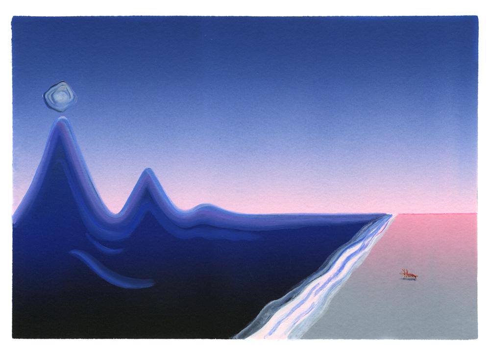 Couverture | Étrange vie d'un caillou | Aline Deguen