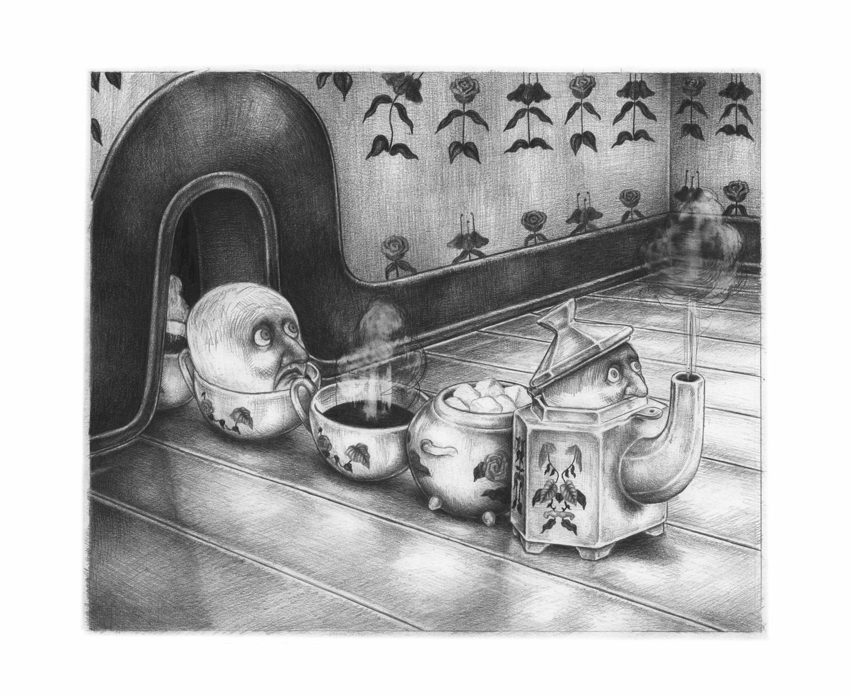 La maison en thé #4   La maison en thé #4   Nicolas Zouliamis