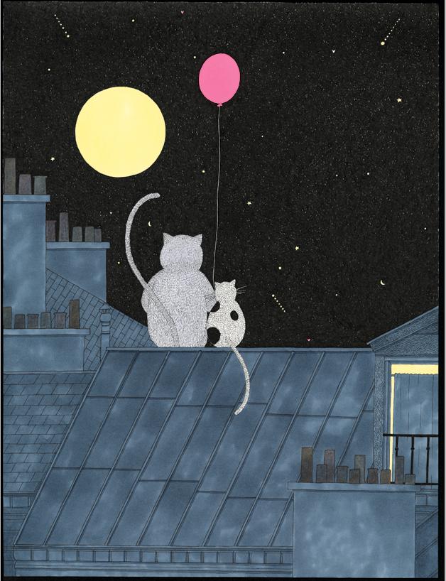 Couverture | Une nuit à pas de velours / couverture et 4e plat | Fanny Ducassé