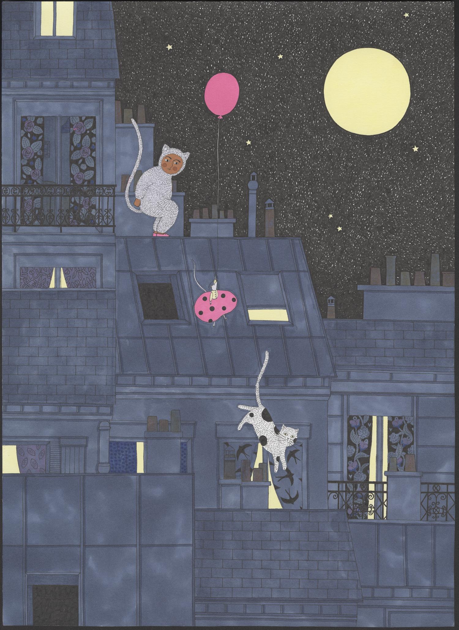 Une nuit à pas de velours #4   Une nuit à pas de velours #4   Fanny Ducassé