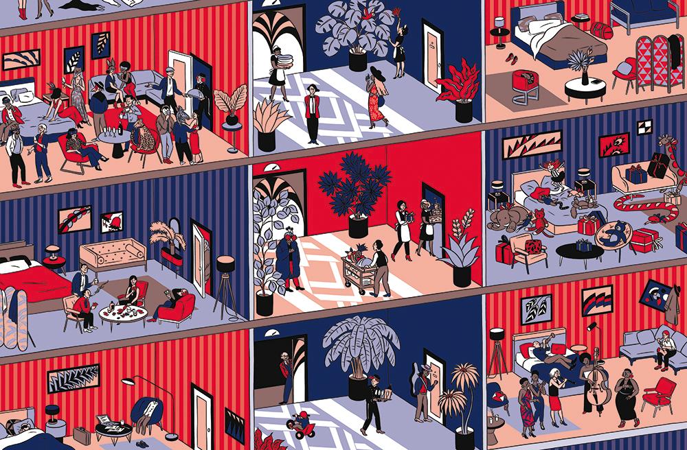 Sarah Loulendo | Grand Hôtel 002 | Sarah Loulendo