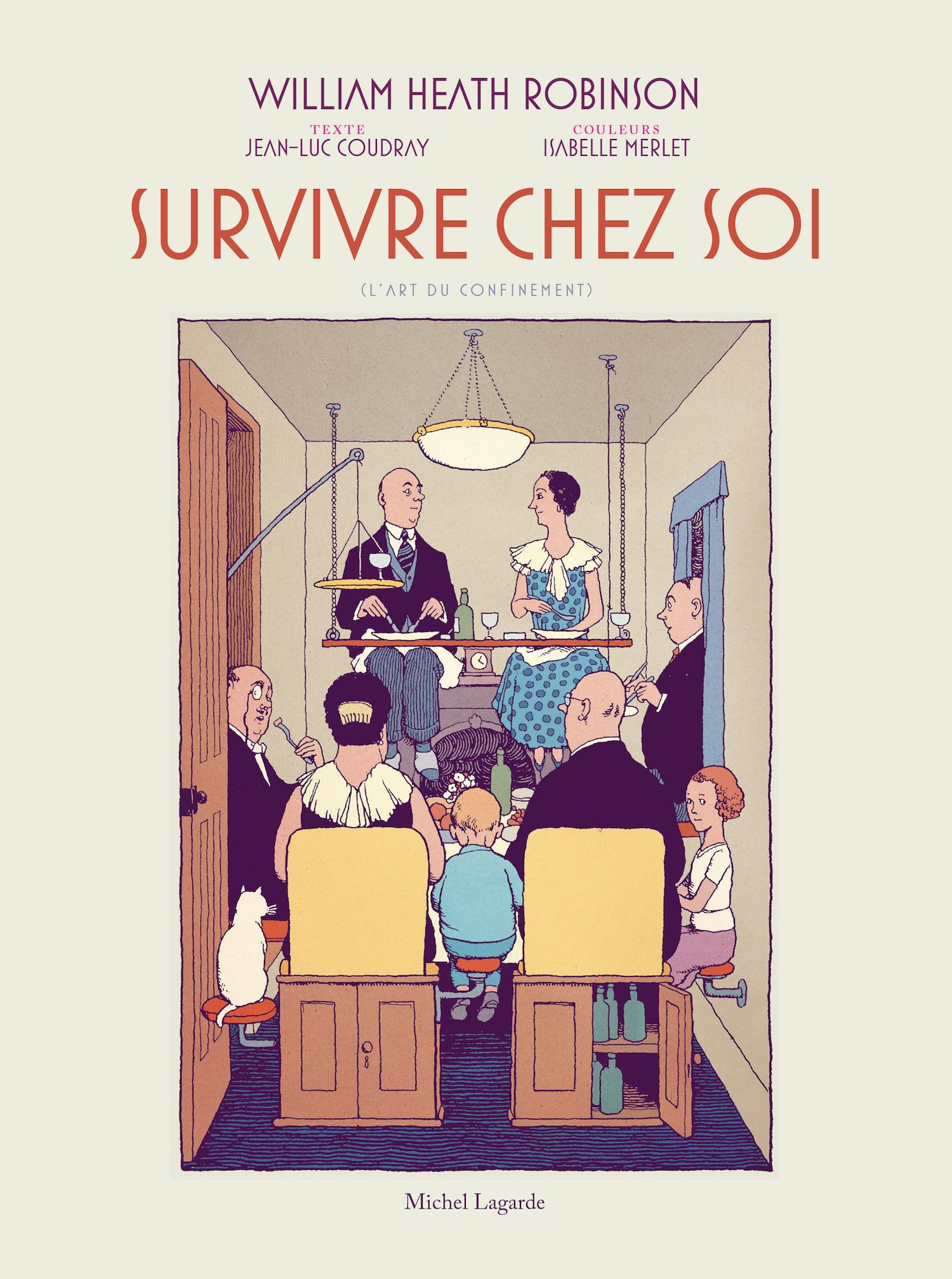 Couverture | Survivre chez soi | L'art du confinement