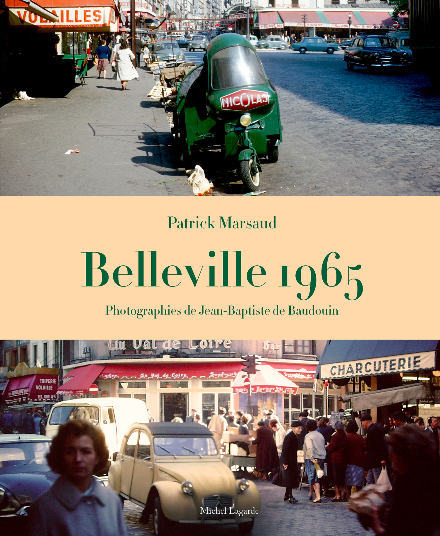 Couverture | Belleville 1965 |
