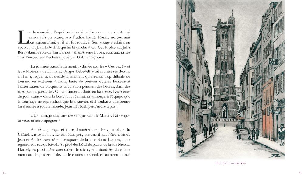 pp 60-61   Le faussaire  