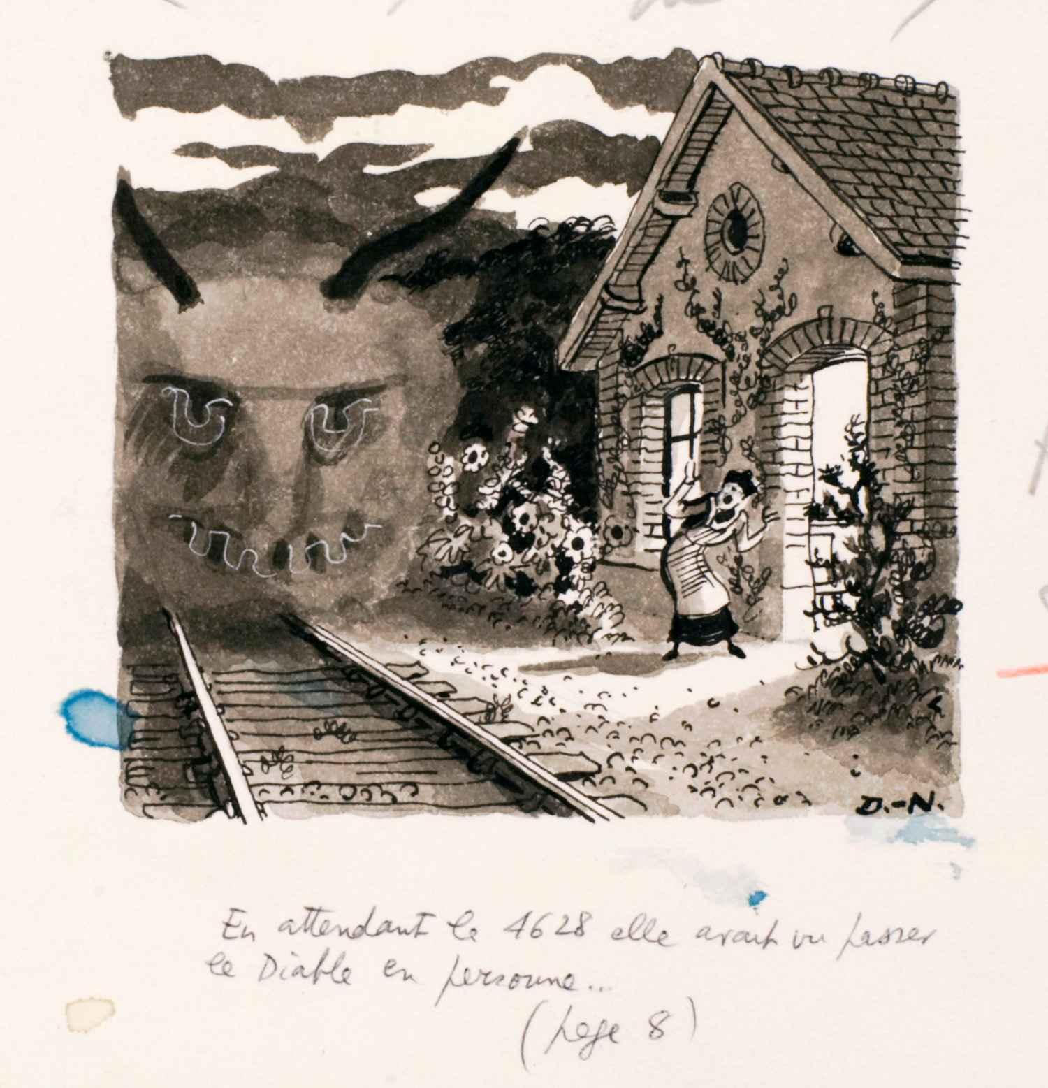 En attendant le 4628 | Pierre Delarue-Nouvellières | En attendant le 4628