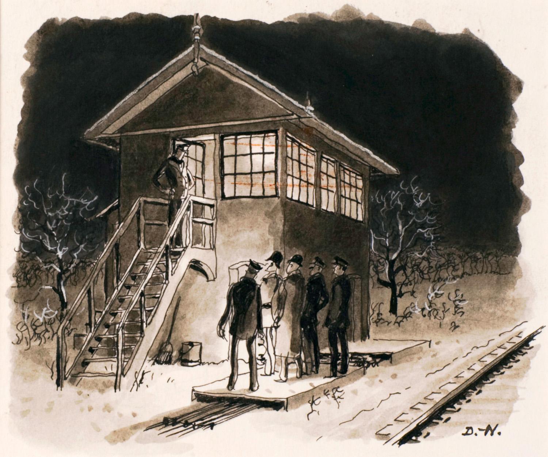 Gare de nuit | Pierre Delarue-Nouvellières | Gare de nuit