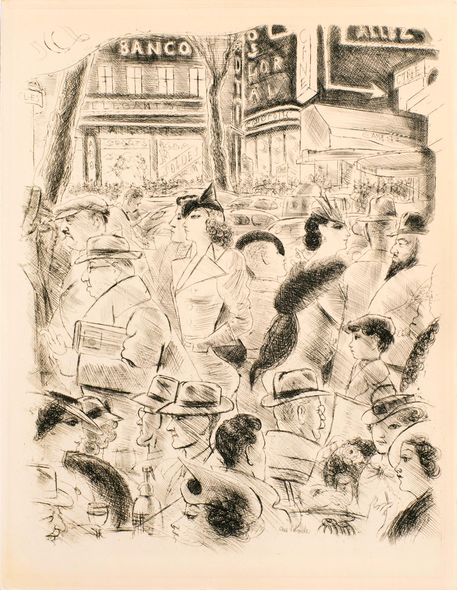 Grands Boulevards | Grands Boulevards | Paris 1937