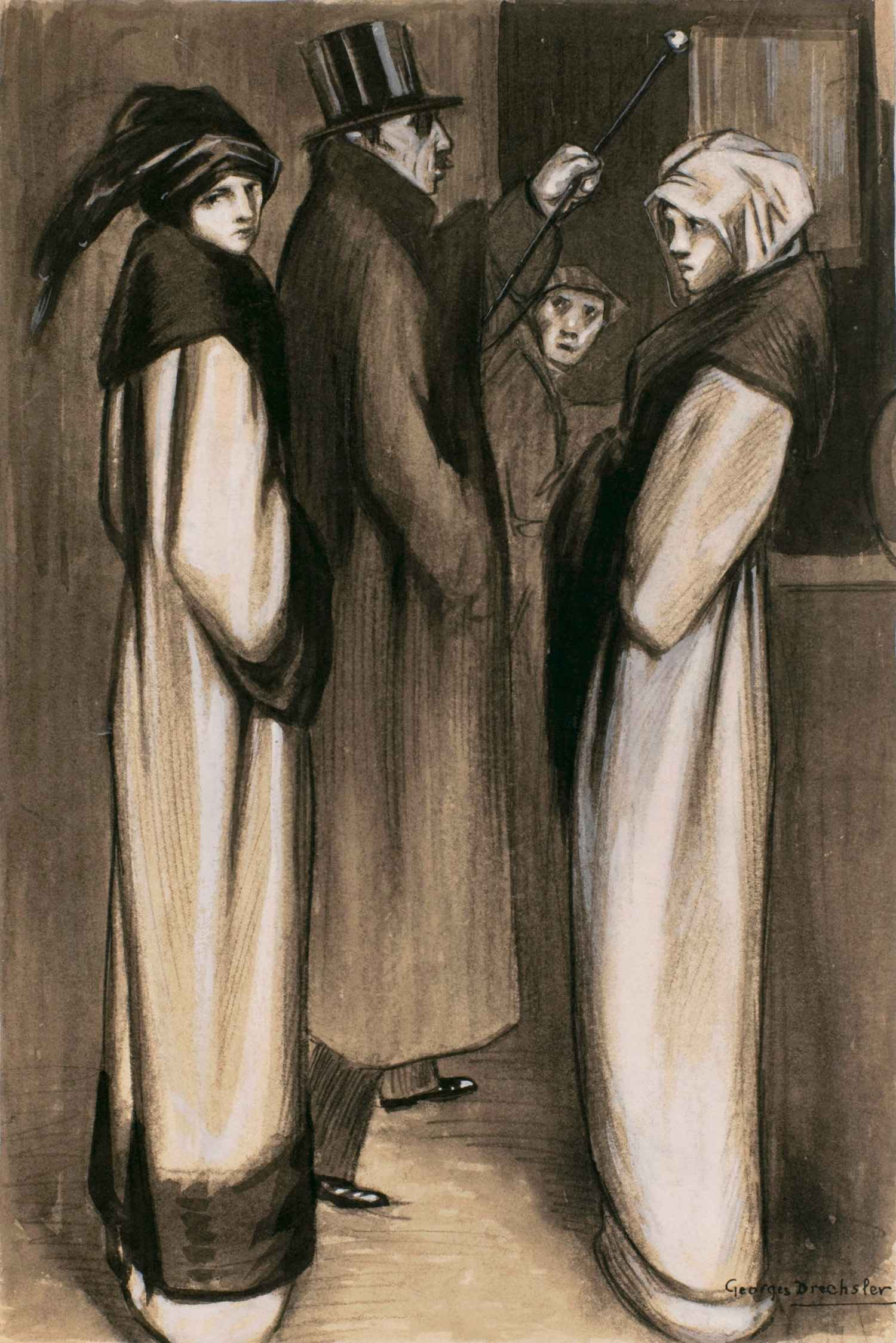 La servante | Georges Drechsler | La servante