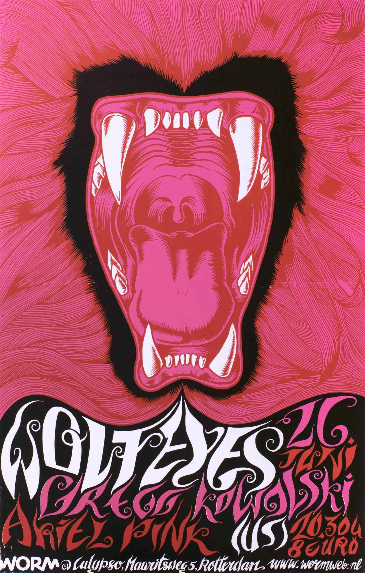 Wolf Eyes | Affiche | Zeloot