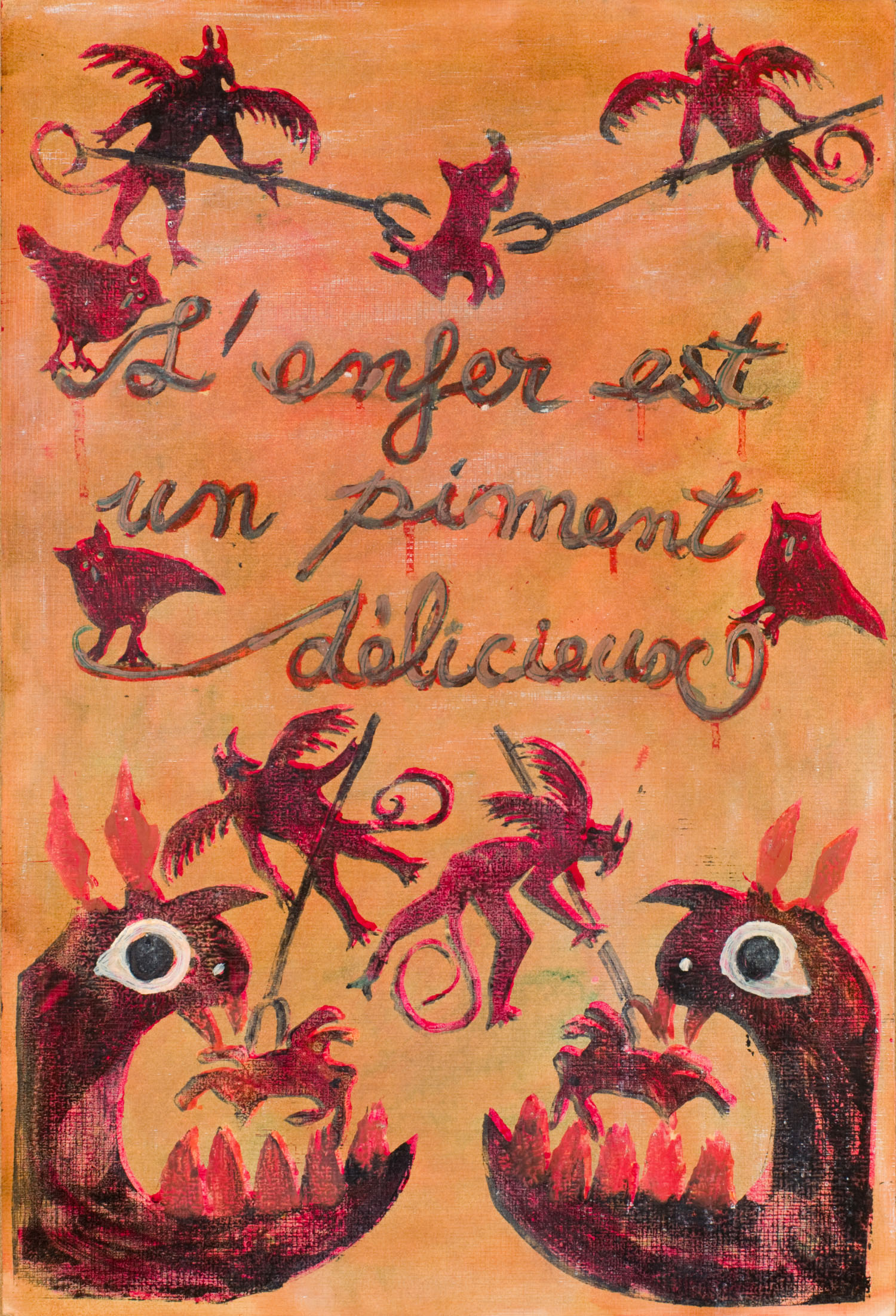 l'enfer est un piment délicieux | La bible du bottier | Atelier Ange Boaretto