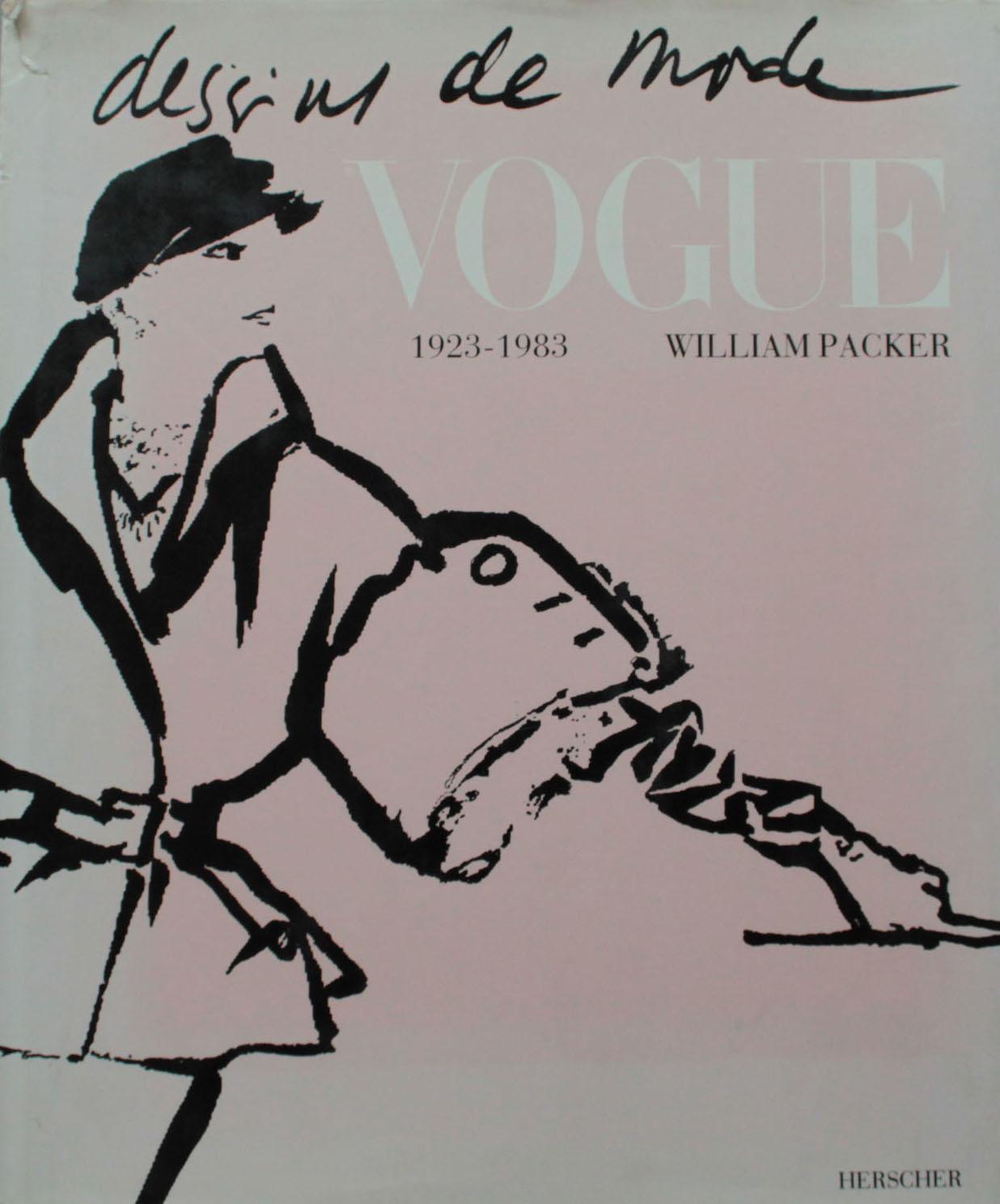 Couverture | Dessins de mode Vogue 1923 / 1983 | Livre