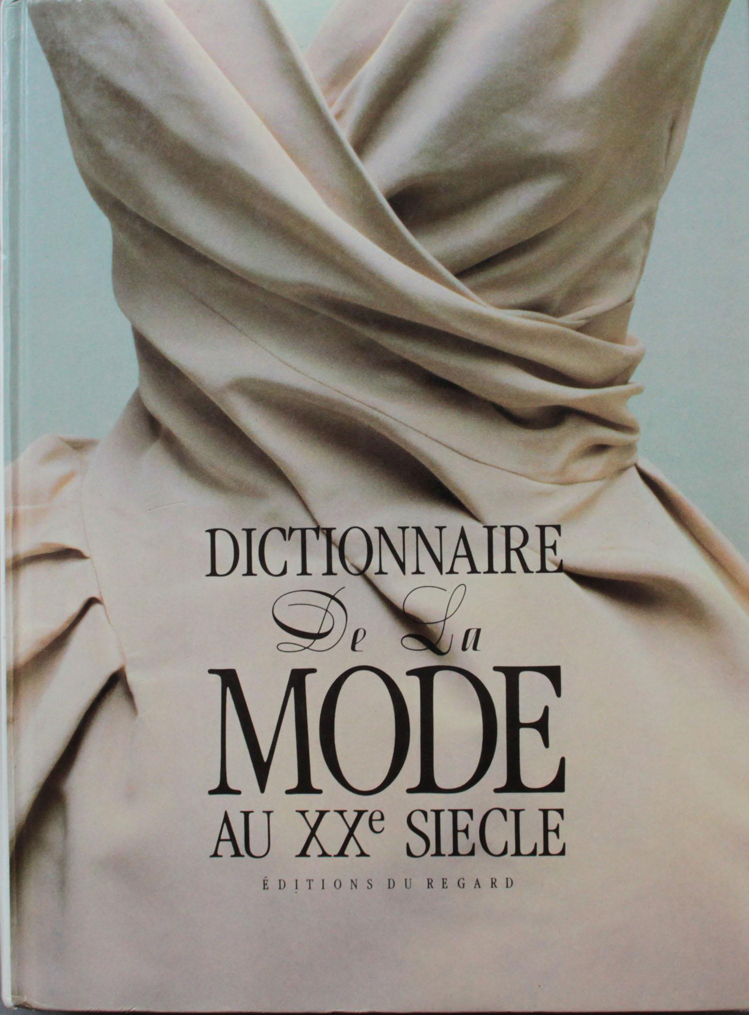 couverture | Dictionnaire de la Mode au XXeme siècle | Editions du Regard