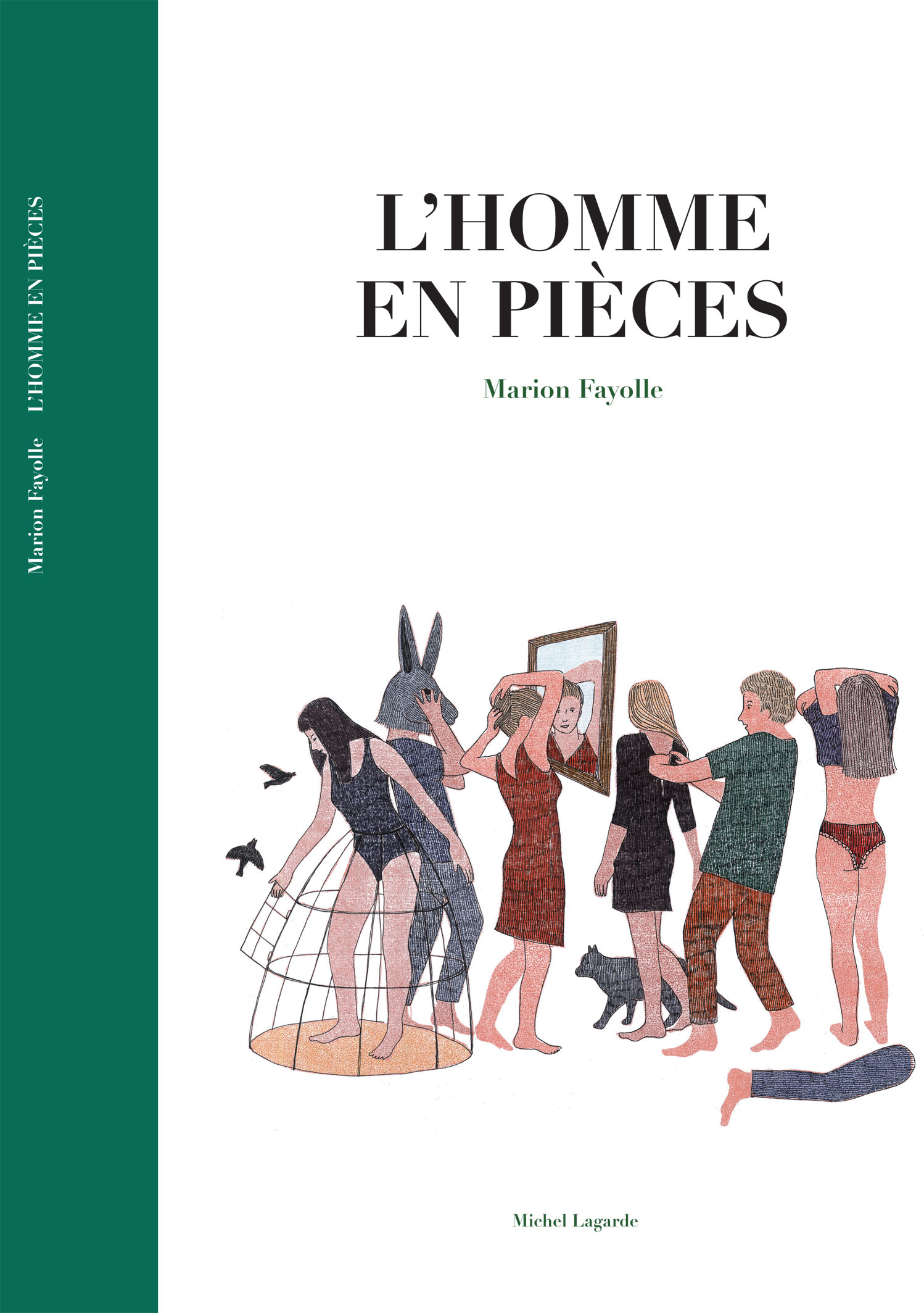 Couverture l&#039;Homme en Pi&egrave;ces | Bande dessin&eacute;e | L&#039;homme en pi&egrave;ces