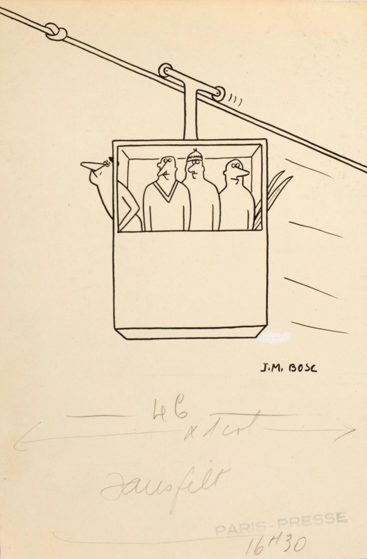 Le téléphérique | Jean-Maurice Bosc |