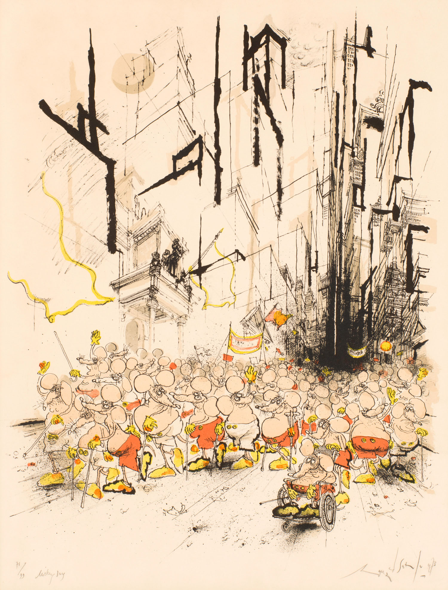 Mickey Day | Ronald Searle |