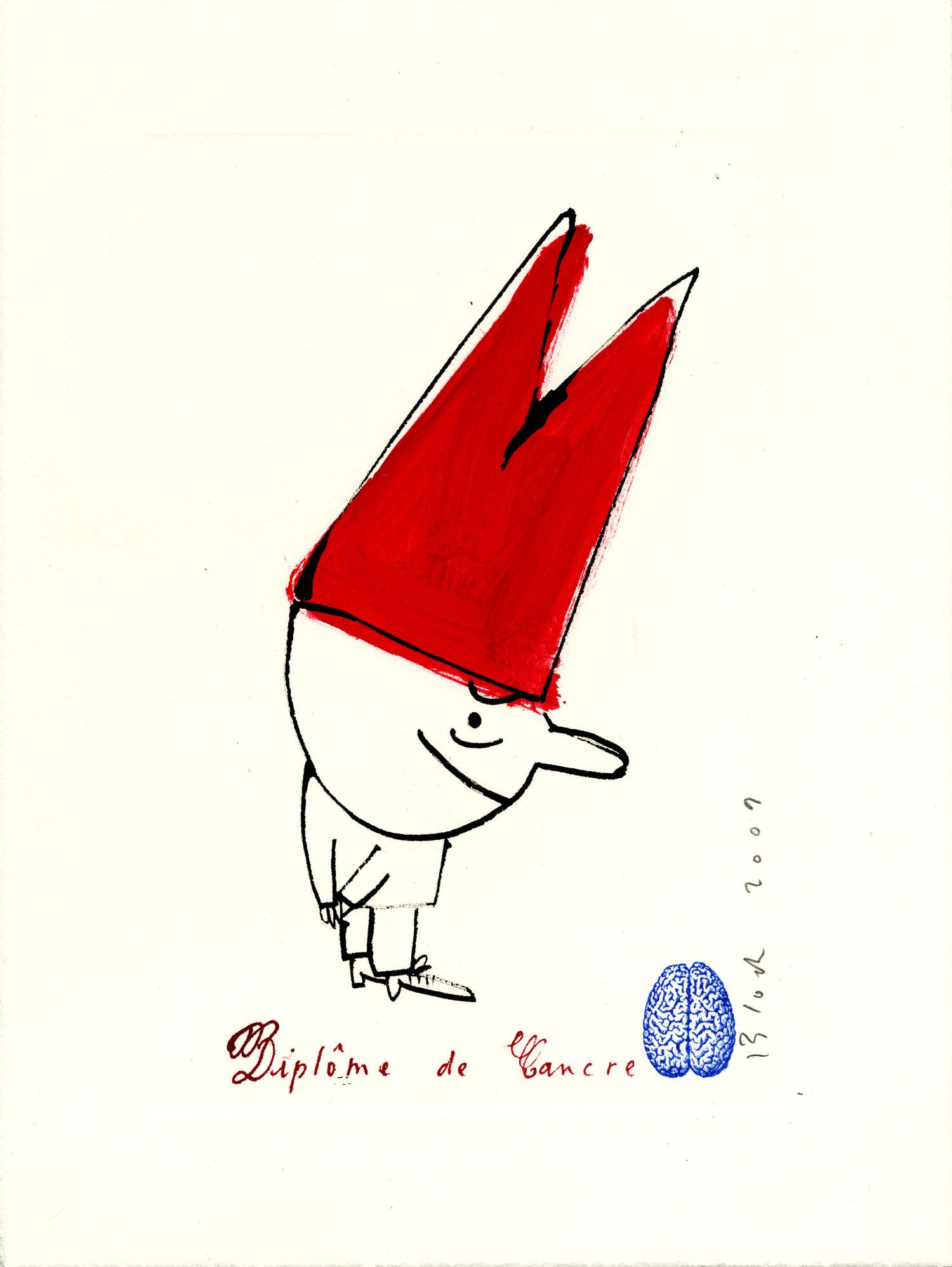 Diplôme de Cancre | Serge Bloch |
