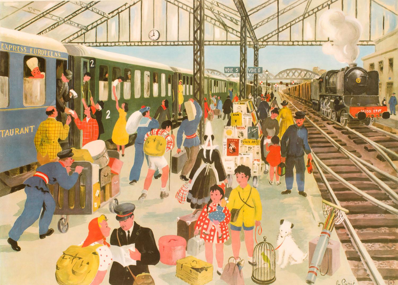 Hélène Poirié | Hélène Poirié | La Gare