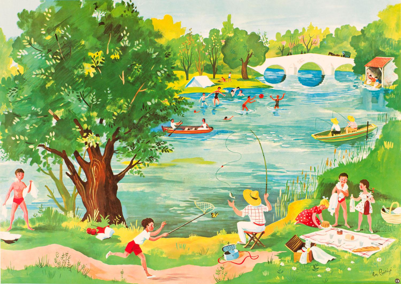 Hélène Poirié | Hélène Poirié | Au bord de la rivière
