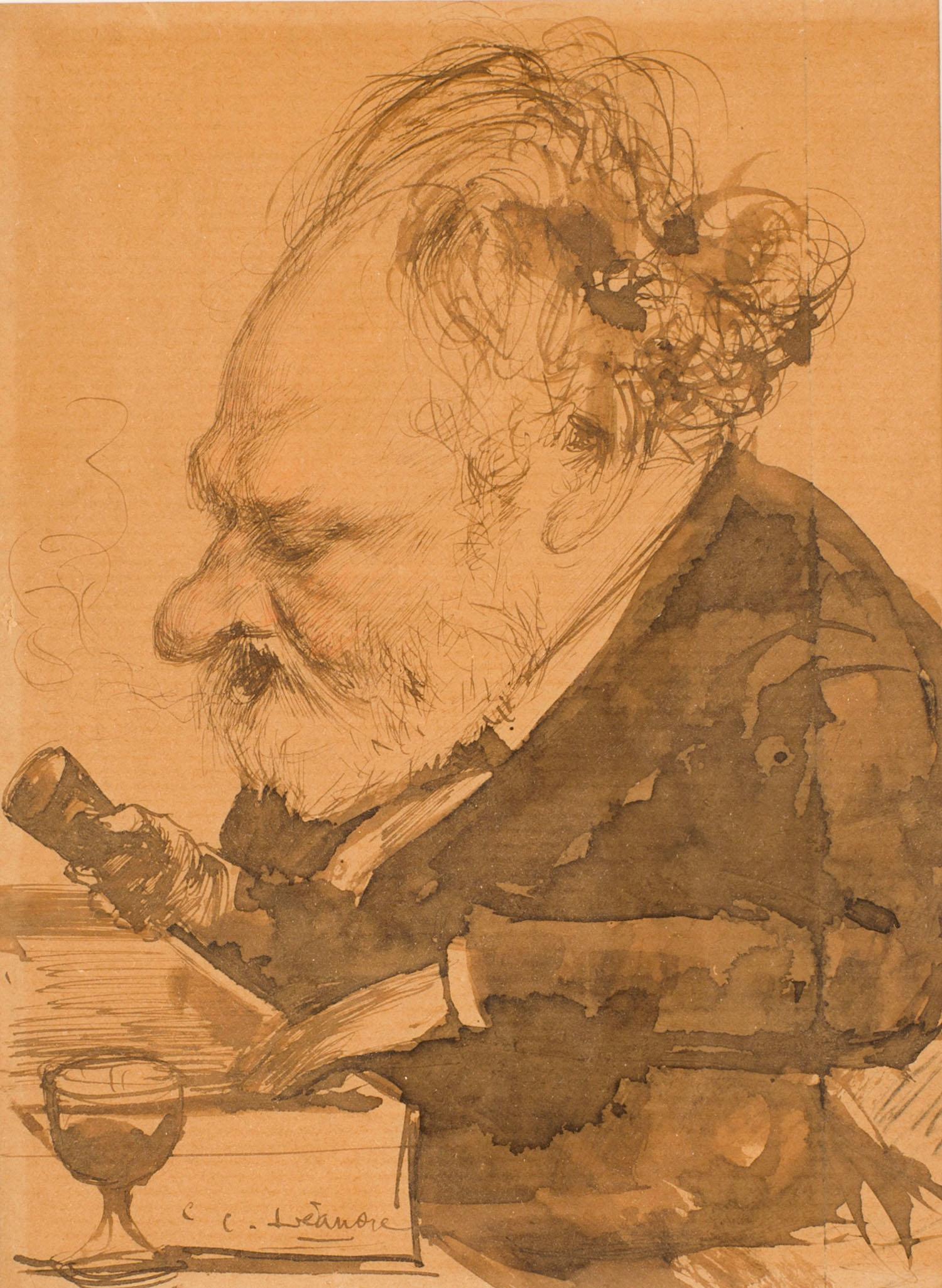 Portrait de Victor Hugo | Charles Léandre |