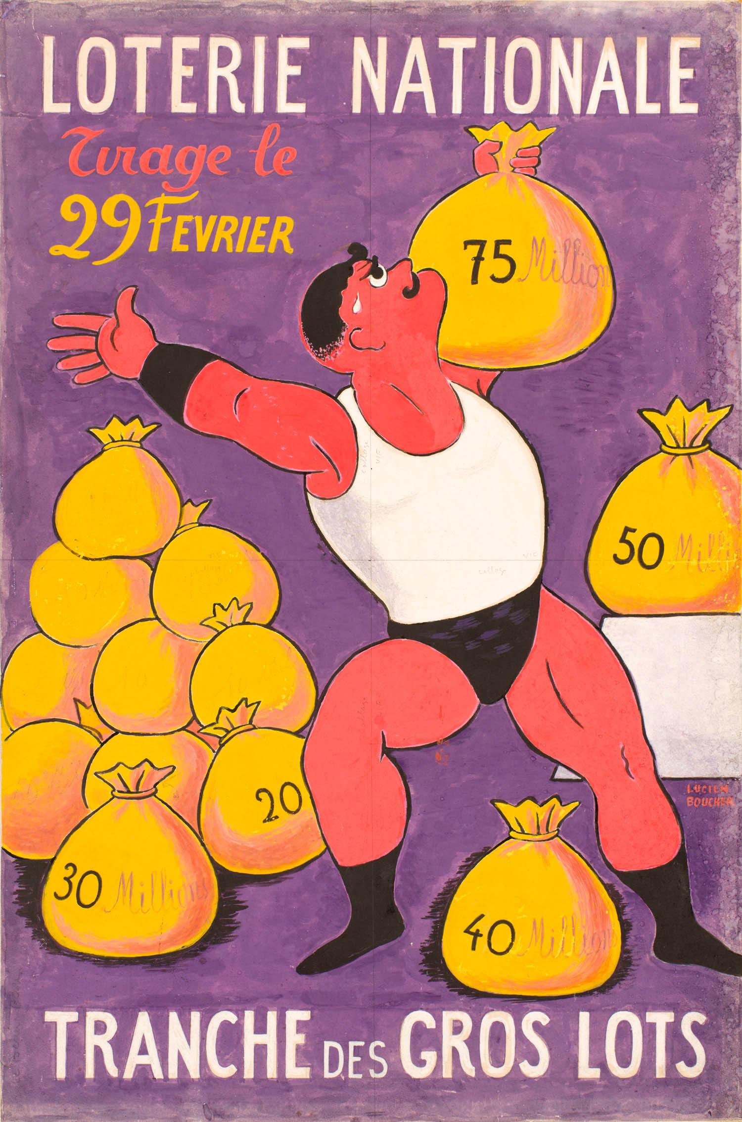 Lucien Boucher | Lucien Boucher | Loterie Nationale