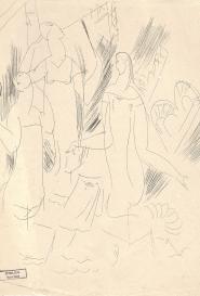 Demoiselles s'habillant Marcel Vertès