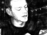 Antoine portrait réalisé sur Iphone