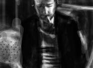 Eric portrait réalisé sur Iphone