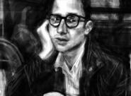 Hugues portrait réalisé sur Iphone