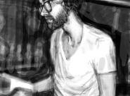 Josh portrait réalisé sur Iphone