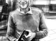 Marco portrait réalisé sur Iphone