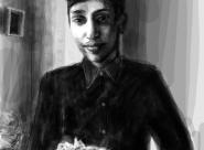 Naveed portrait réalisé sur Iphone