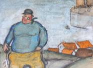 Gus Bofa Le retour du pêcheur