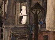 Pierre Falké Jeune fille à la fenêtre
