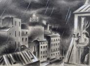Lucien Boucher Vue sur le Sacré Coeur