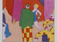 Coulisses du cirque Carré