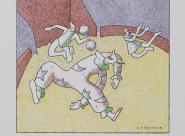 Un numéro du cirque Sibaïa