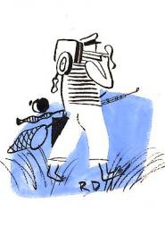 Roger Duvoisin Départ pour la pêche