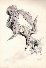 Trois figures Guido Buzzelli