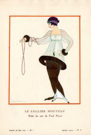 Le Collier nouveau Gazette du Bon Ton n°1
