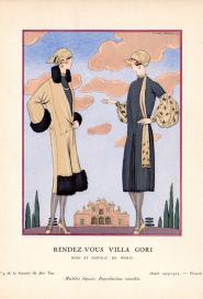 Rendez-vous villa gori Gazette du bon ton n°9