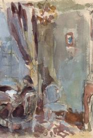 Scène d'intérieur Suzanne Humbert