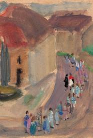 La procession Suzanne Humbert